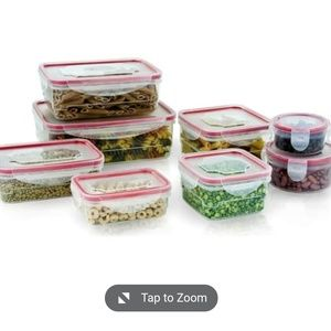 16 piece food container set NEW
